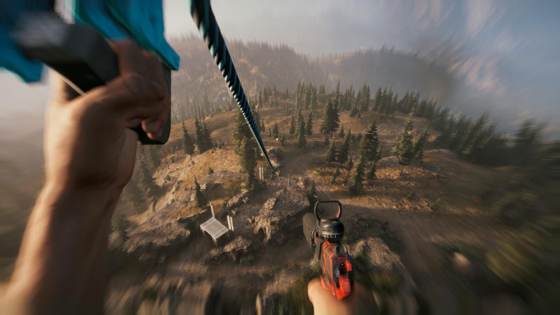 Far Cry 5 - giù per il cavo