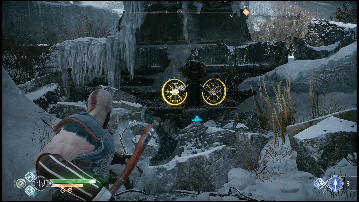 God of War HUD